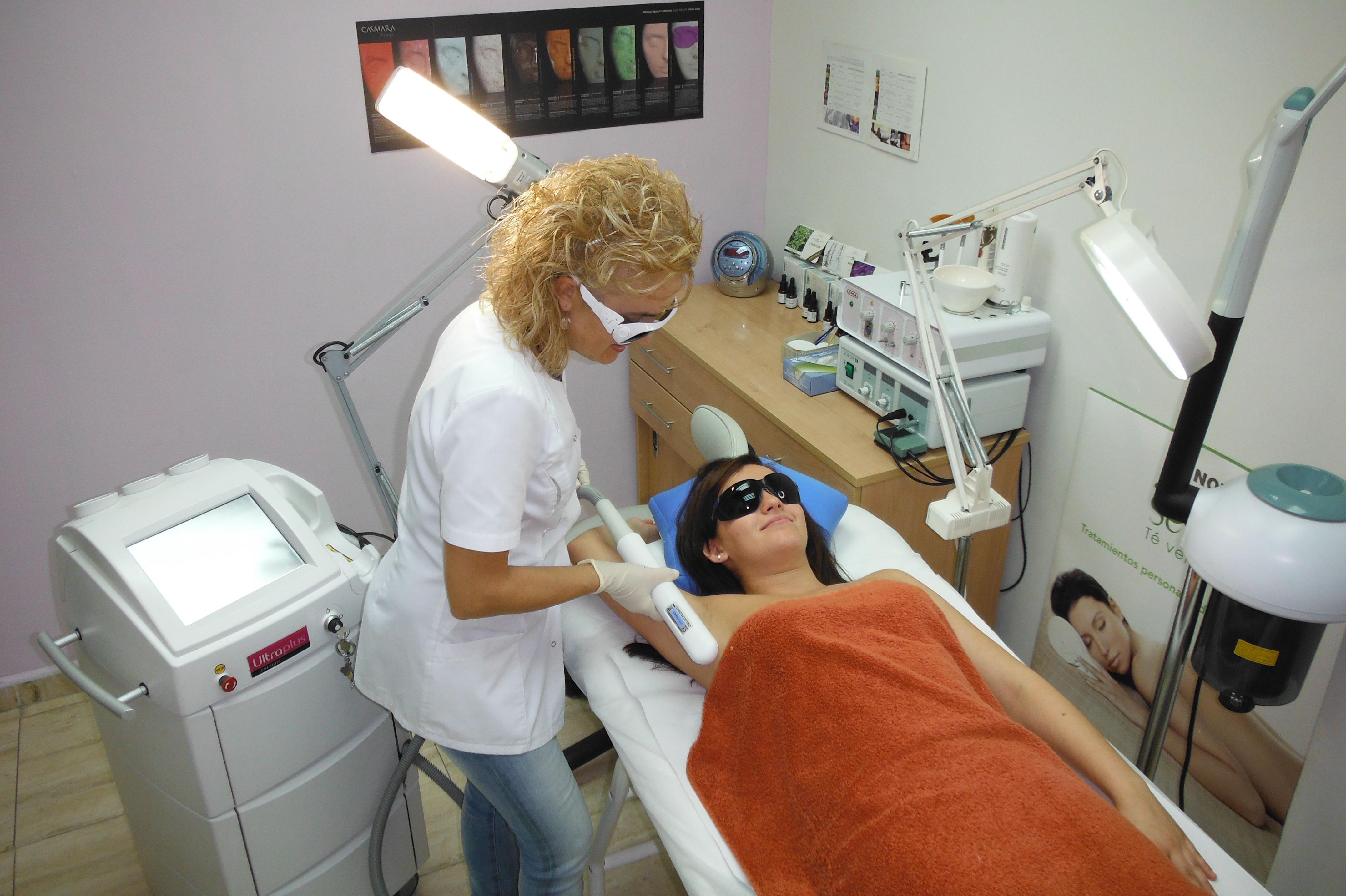 Jornada de tratamientos con láser
