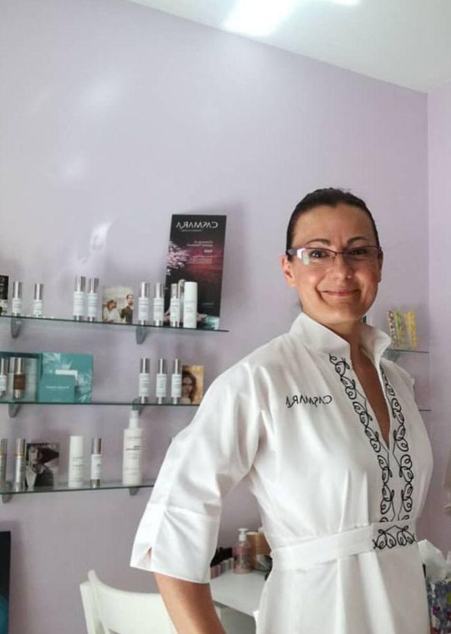 Maria Serrano emprendedora de Bellesa i Benestar Maria