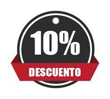 DESCUENTO 10% sobre otros Canales de Reserva