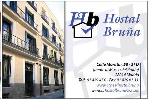 Foto 17 de Hostales en Madrid | Hostal Bruña