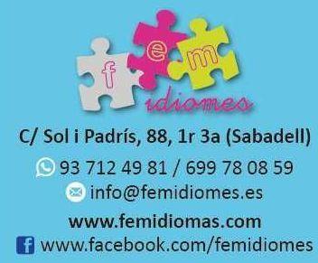 Foto 5 de Academias de idiomas en Sabadell | Fem Idiomes