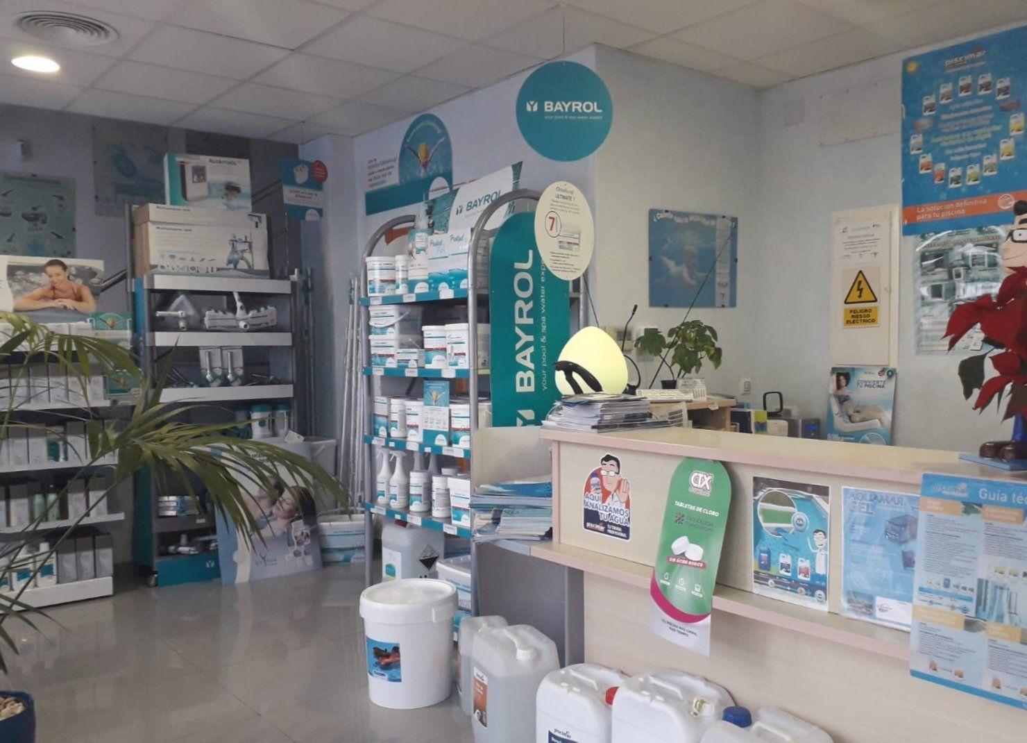 Productos para piscina en Murcia