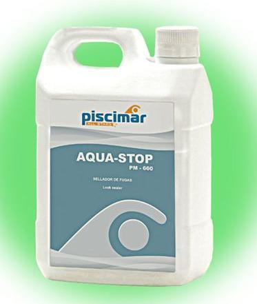 pm 660 aqua stop sellador de fugas servicios de piscinas padilla s l. Black Bedroom Furniture Sets. Home Design Ideas