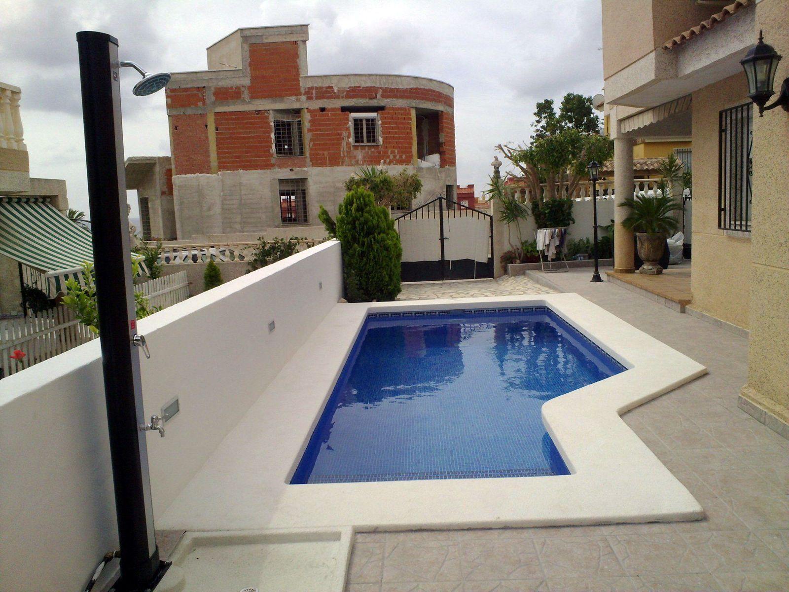 Construcción de piscinas de obra en Murcia