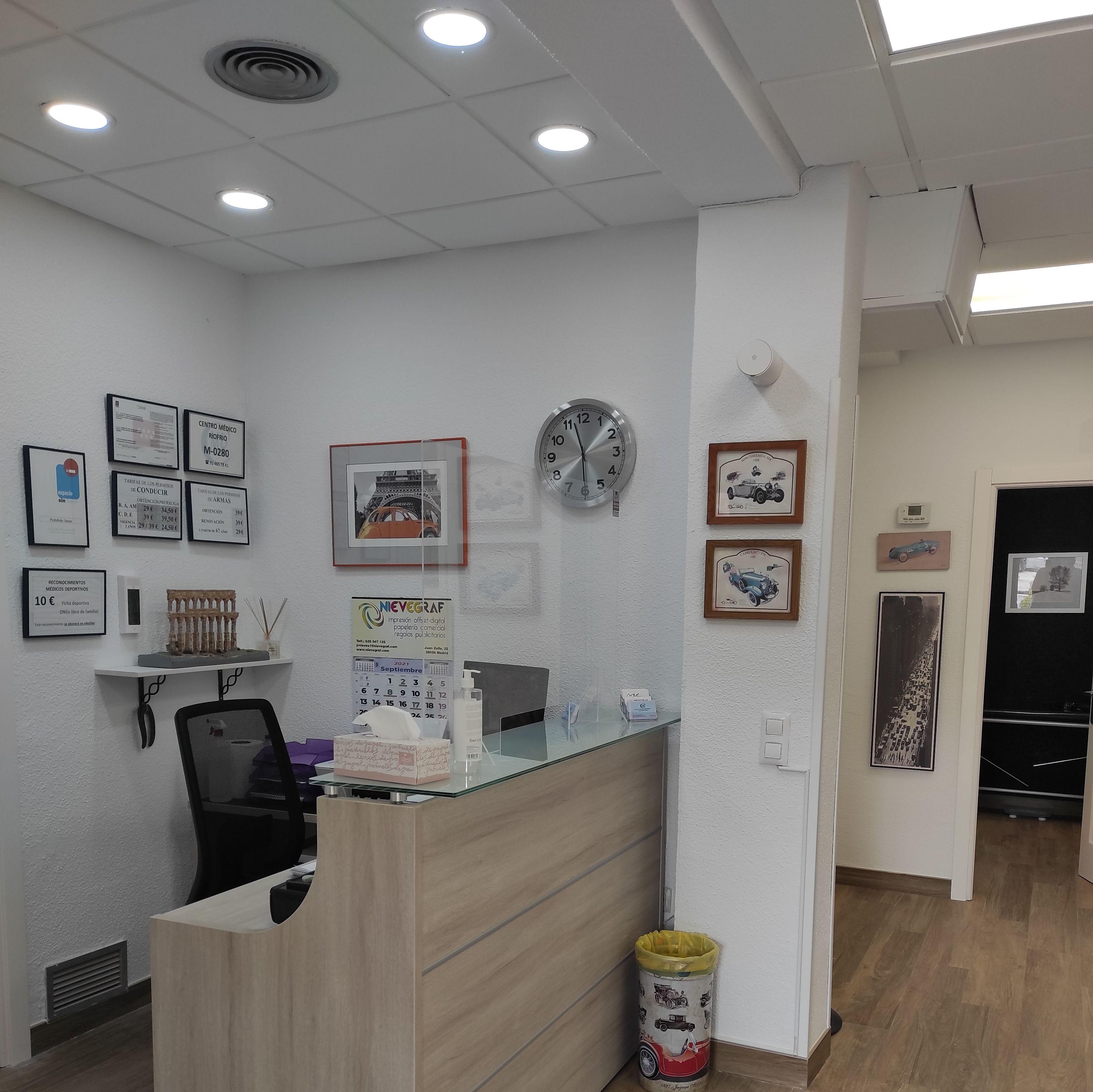 Foto 9 de Reconocimientos y certificados médicos en Madrid | Centro Médico Riofrío