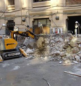 Empresa de derribos en Madrid