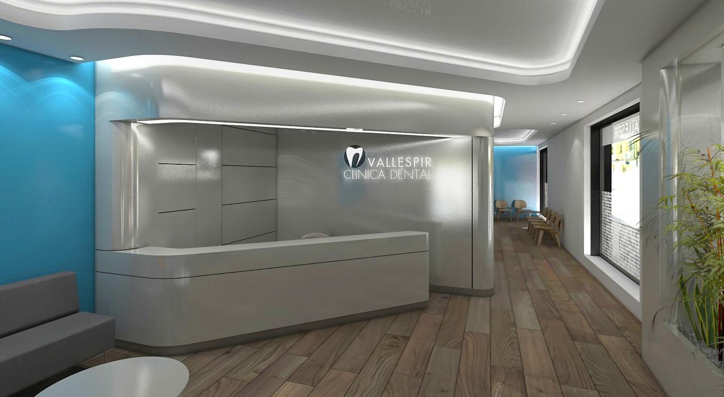 Diseño y reforma de local comercial para clínica en Barcelona