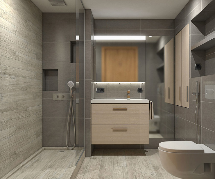 Diseño y reforma de baño en Barcelona