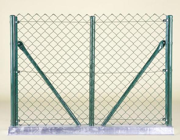 Valla y postes metálicos: Materiales de construcción de Can Curreu