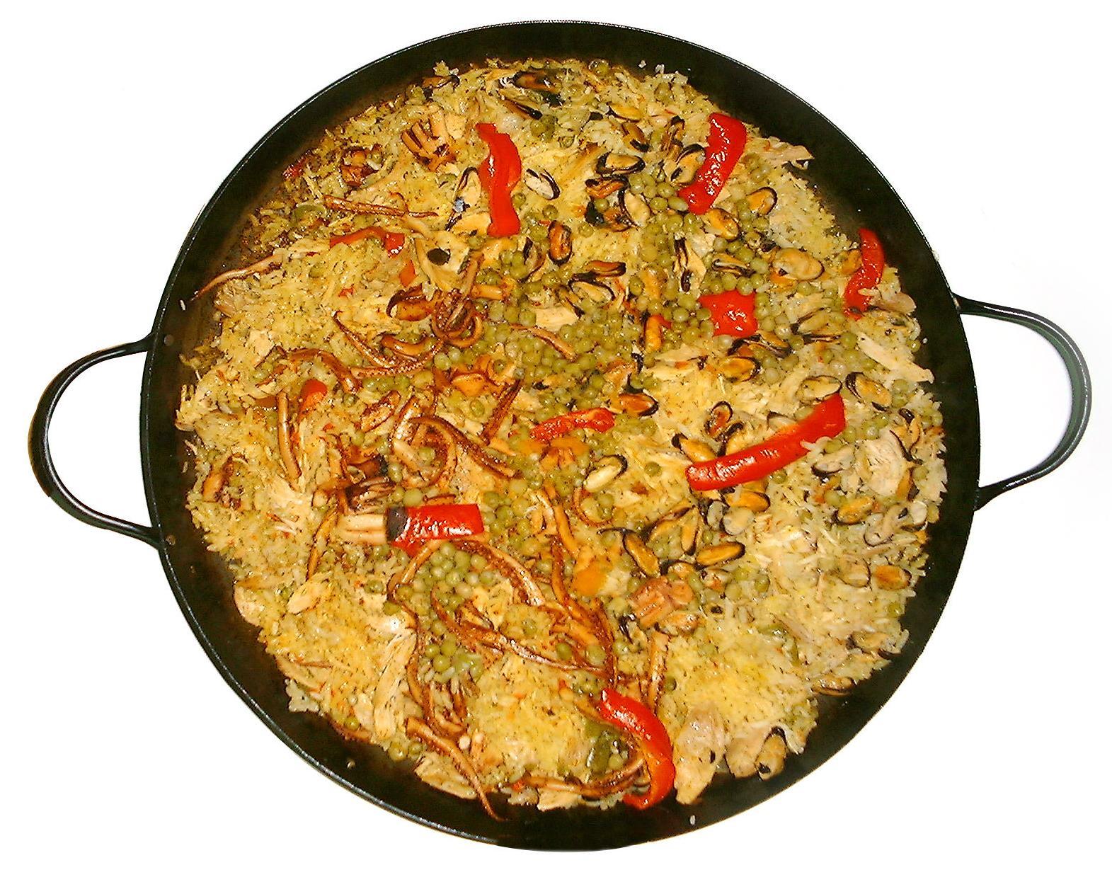 Paellas tradicionales