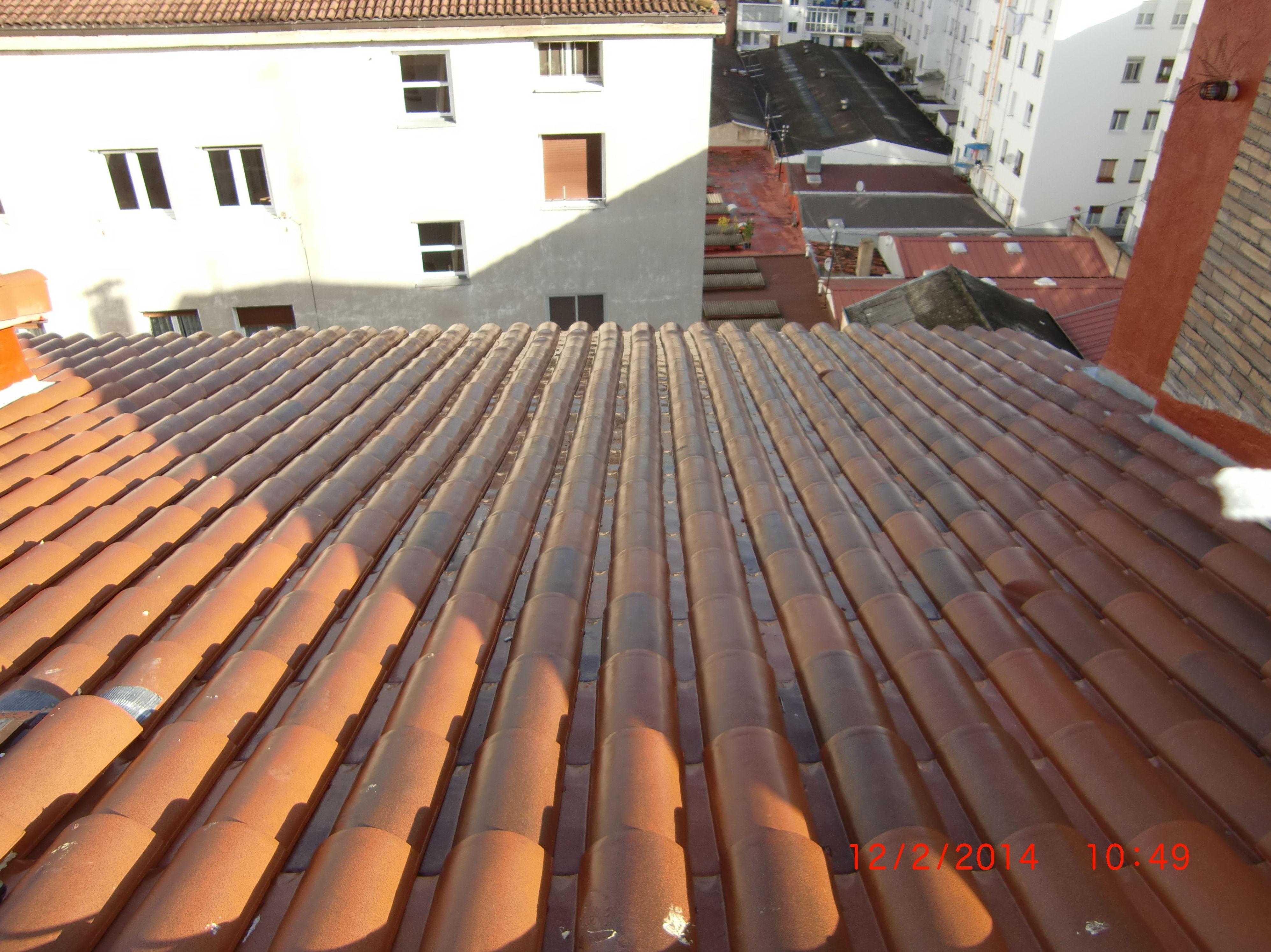 Rehabilitación de tejado en la calle Badaya, 22 Vitoria-Gasteiz