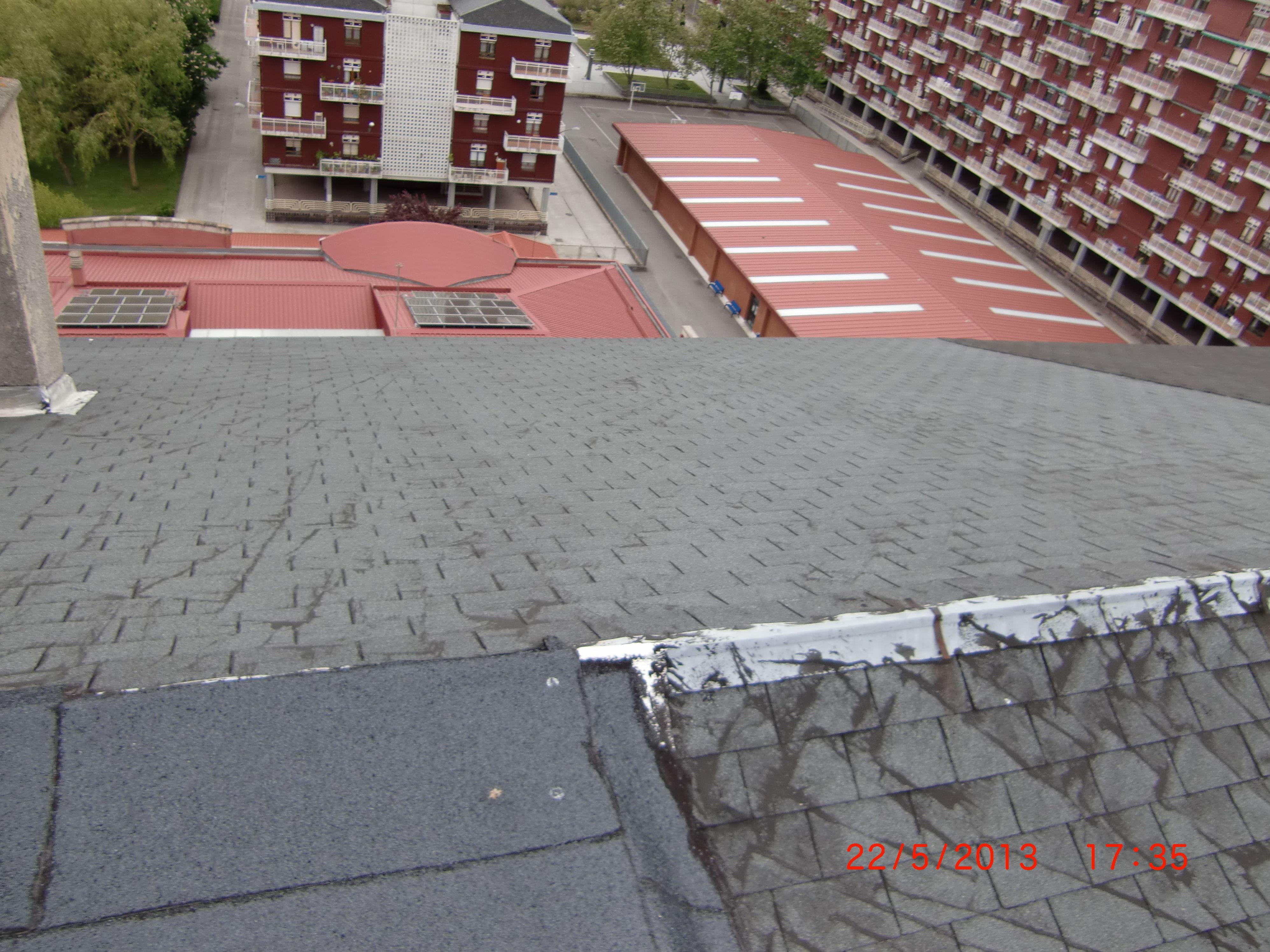 Rehabilitación de tejado en la calle Argentina, 8 Vitoria-Gasteiz
