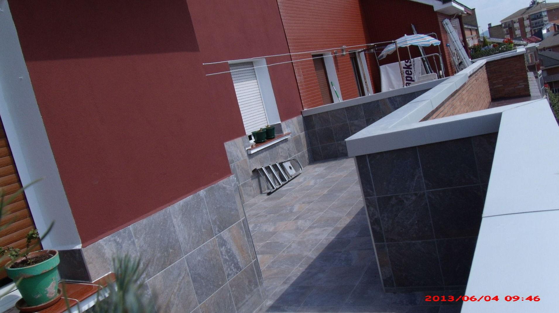 Terrazas : Qué hacemos de Canalones y Cubiertas Fonseca