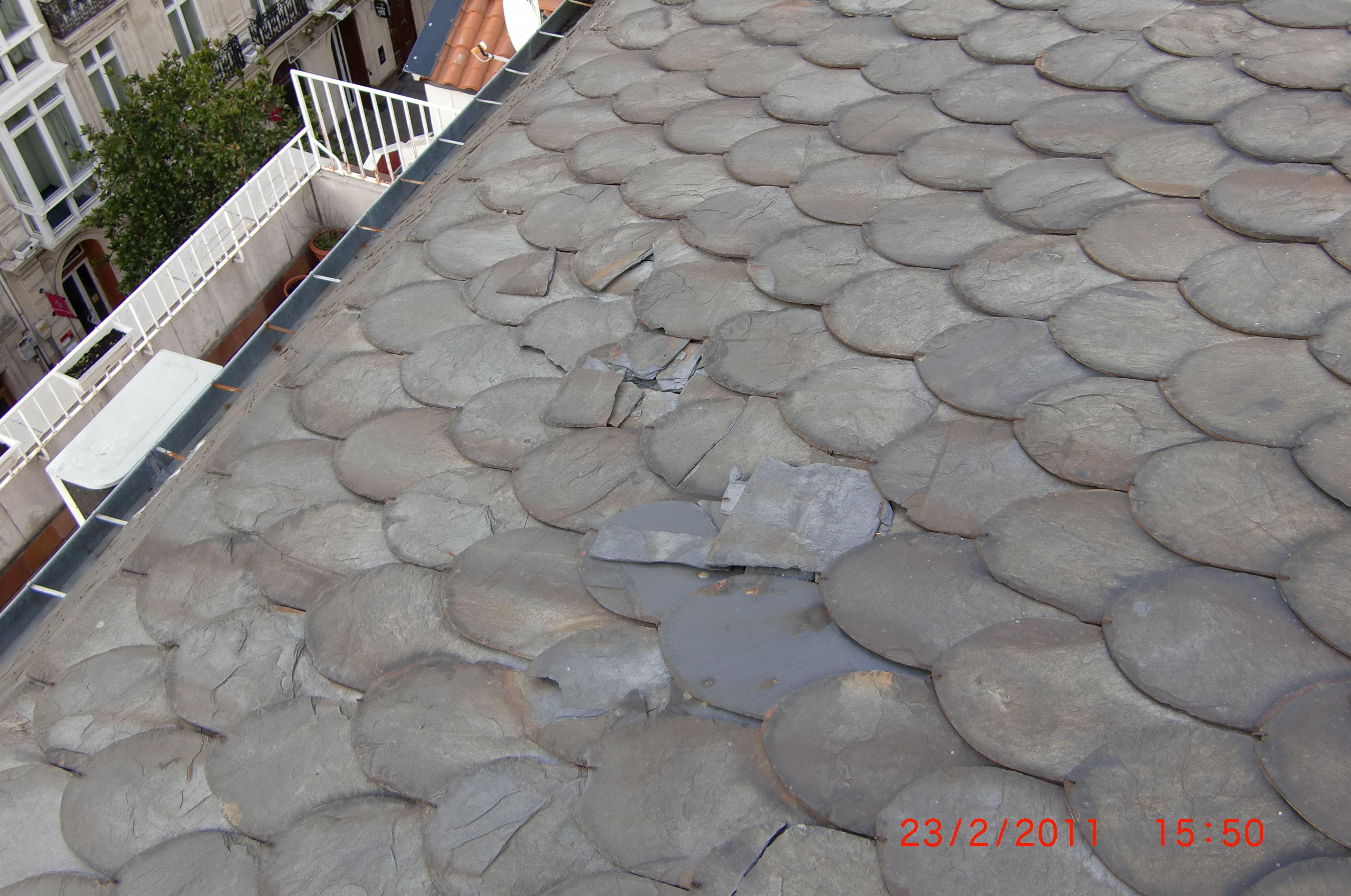 Rehabilitación de tejado en la calle Dato, 19 Vitoria-Gasteiz