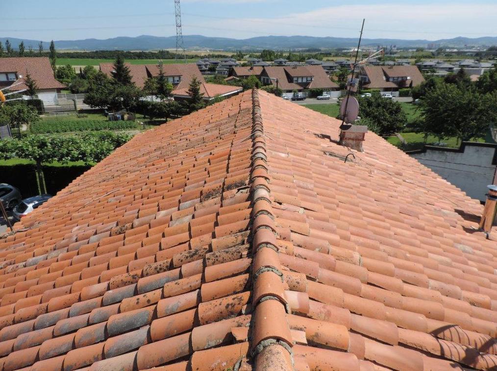 Rehabilitación de tejado en Durana, antes