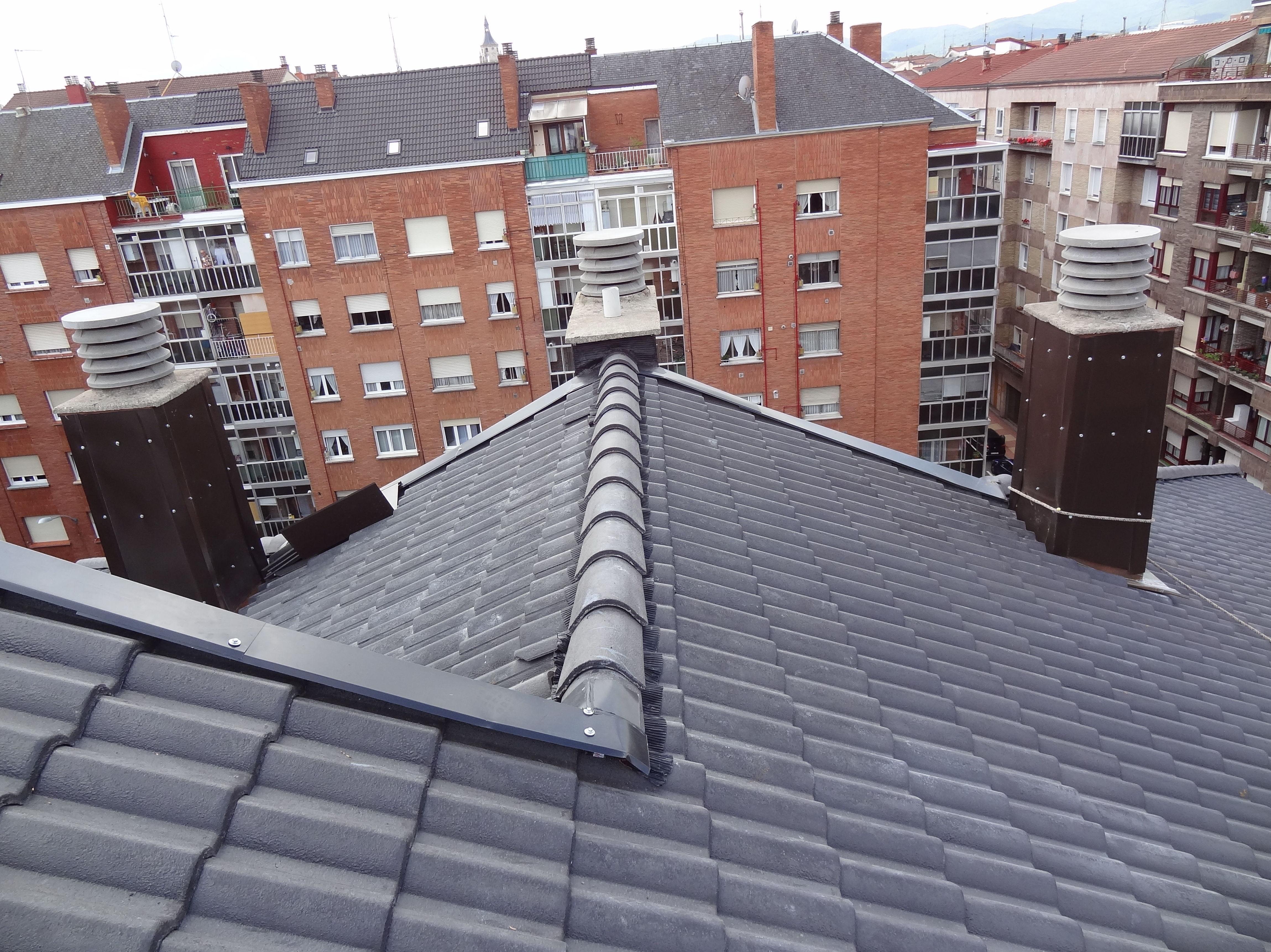 Rehabilitación de tejado en Calle Santa Isabel, 8, Vitoria-Gasteiz