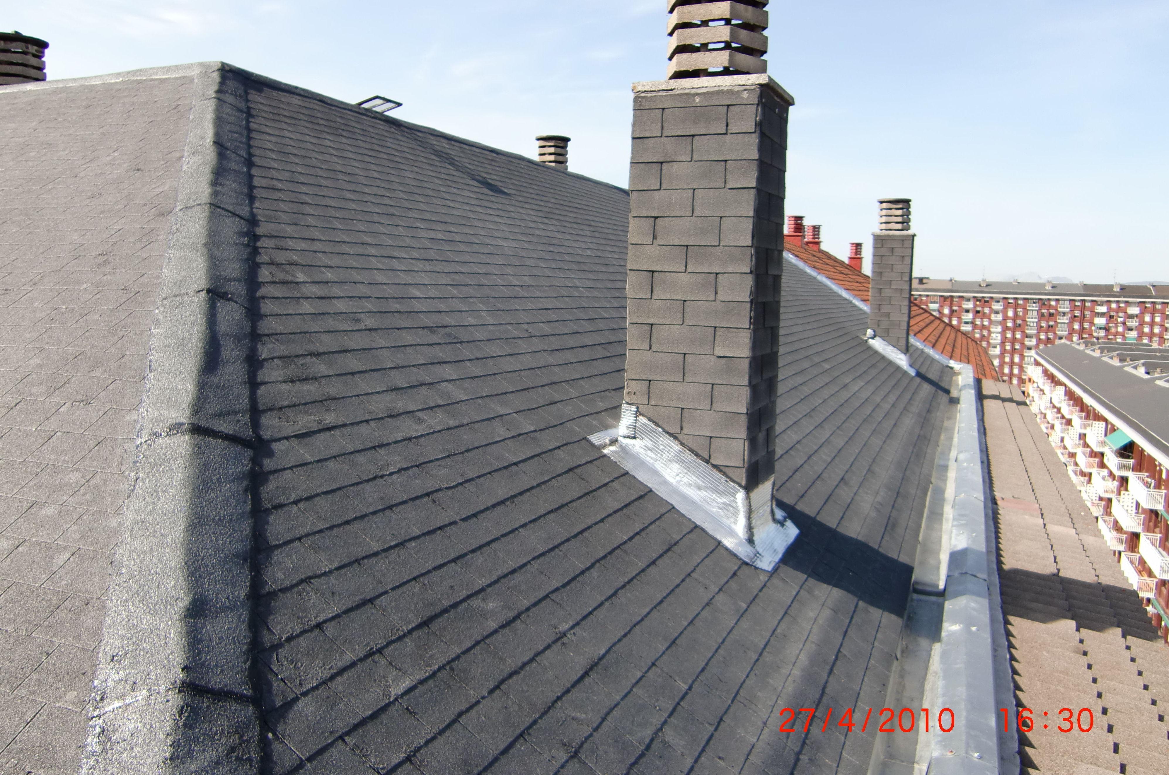 Rehabilitación de tejado en Plaza de San Martín, 6, Vitoria-Gasteiz