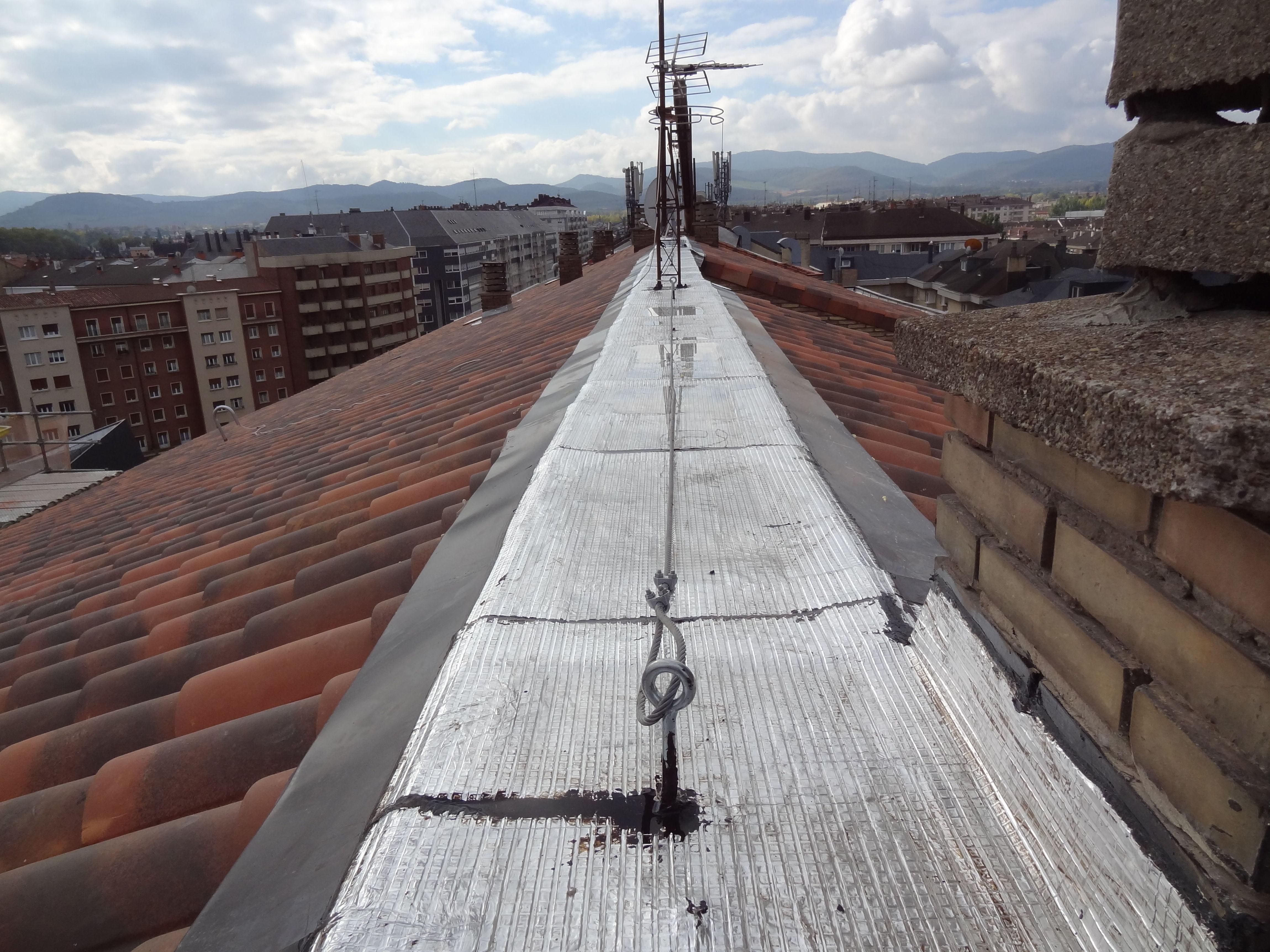 Rehabilitación de tejado en Av. Gasteiz, 51, Vitoria-Gasteiz, después de la obra