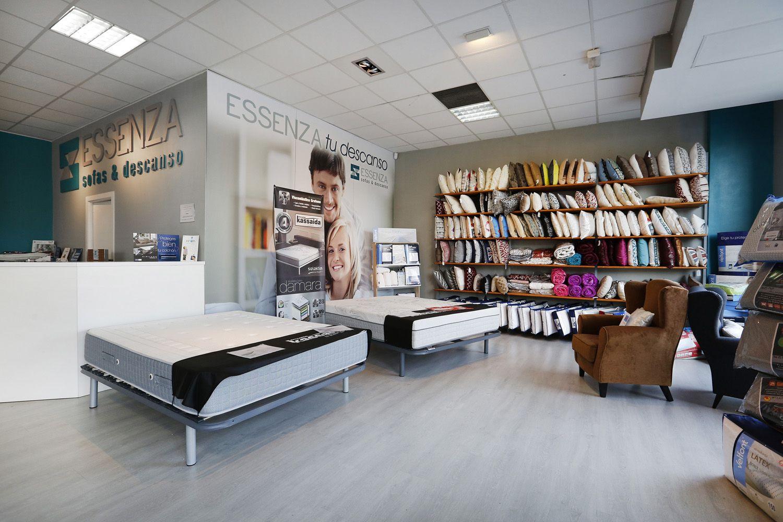Interior de nuestra tienda en Vizcaya