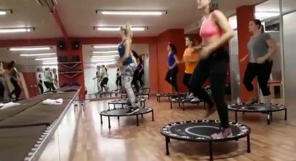 Nuestra clase de cardio más fuerte: body Jump