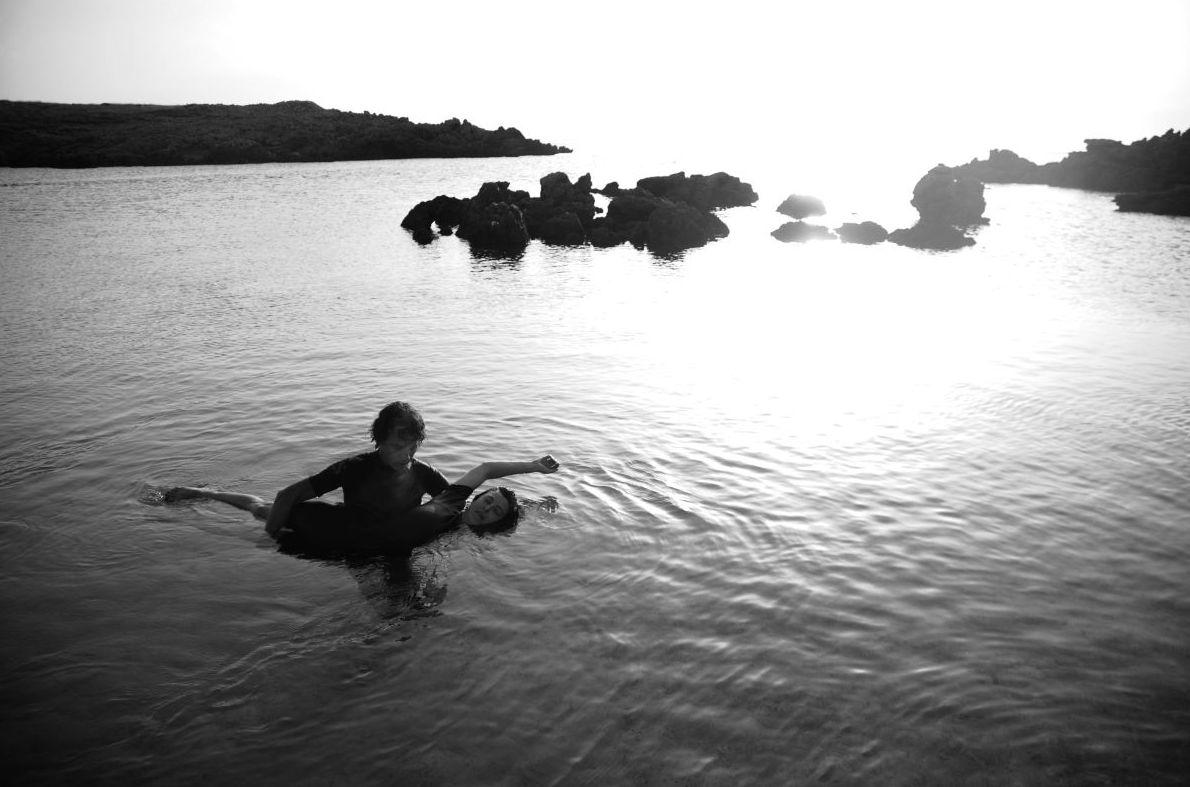 Masaje en el agua
