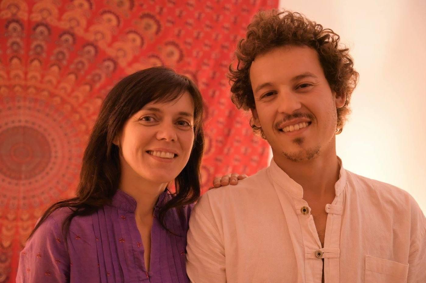 Claudia Villalobos y Robert Barbas, Tantra Menorca