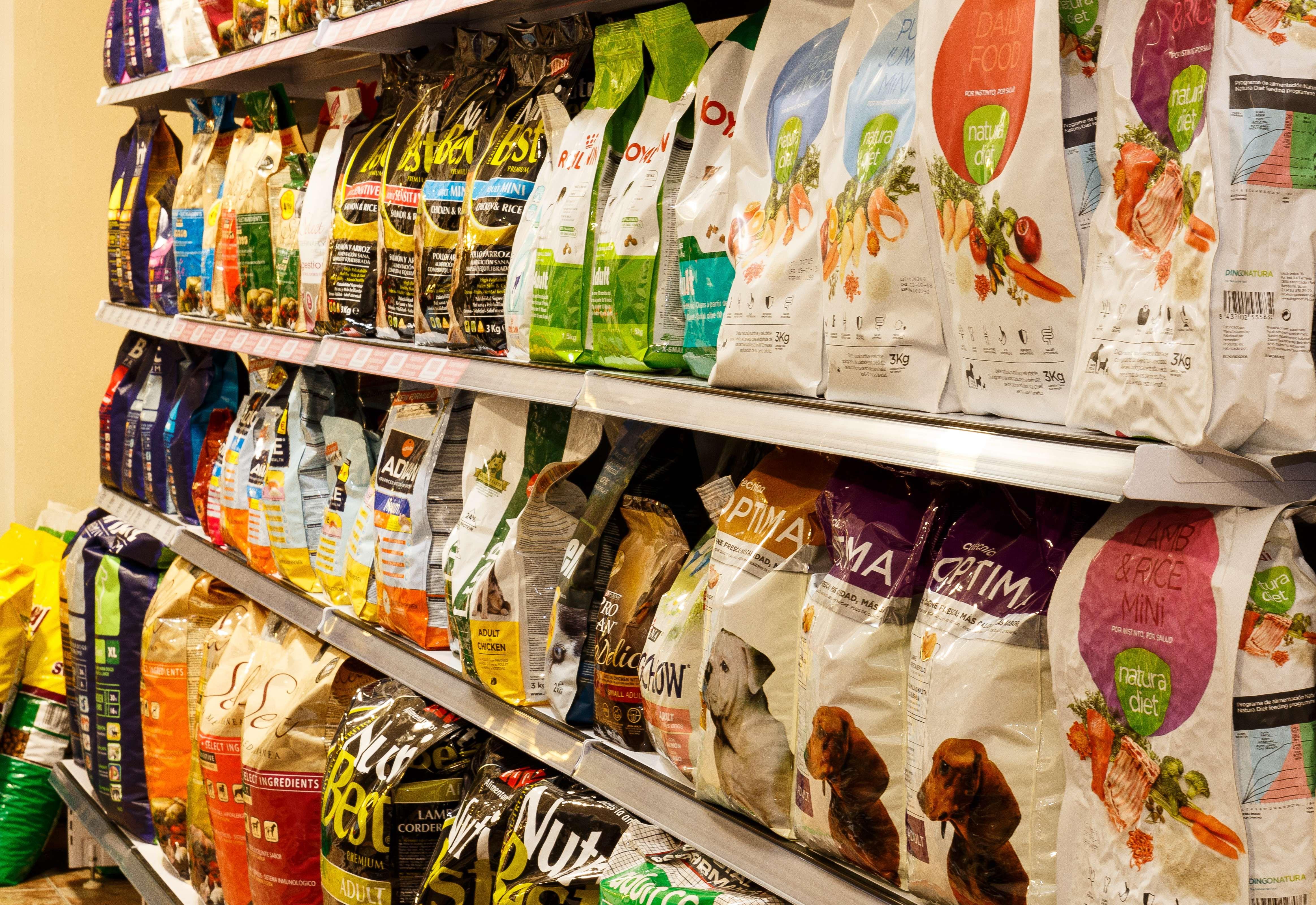 Alimentos para mascotas en Cullera