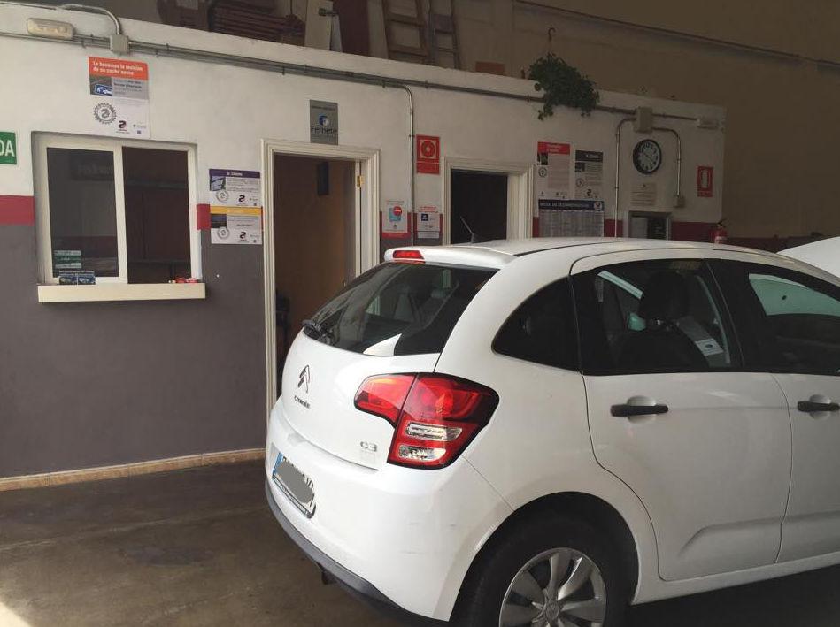 Zona de recepción de vehículos