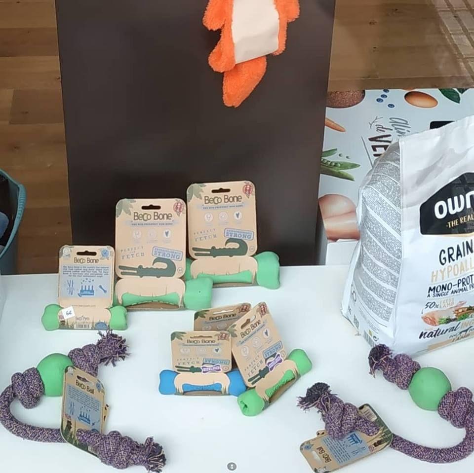 Accesorios para mascotas biodegradables