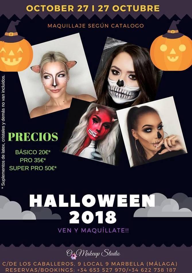 Maquillajes Halloween Marbella