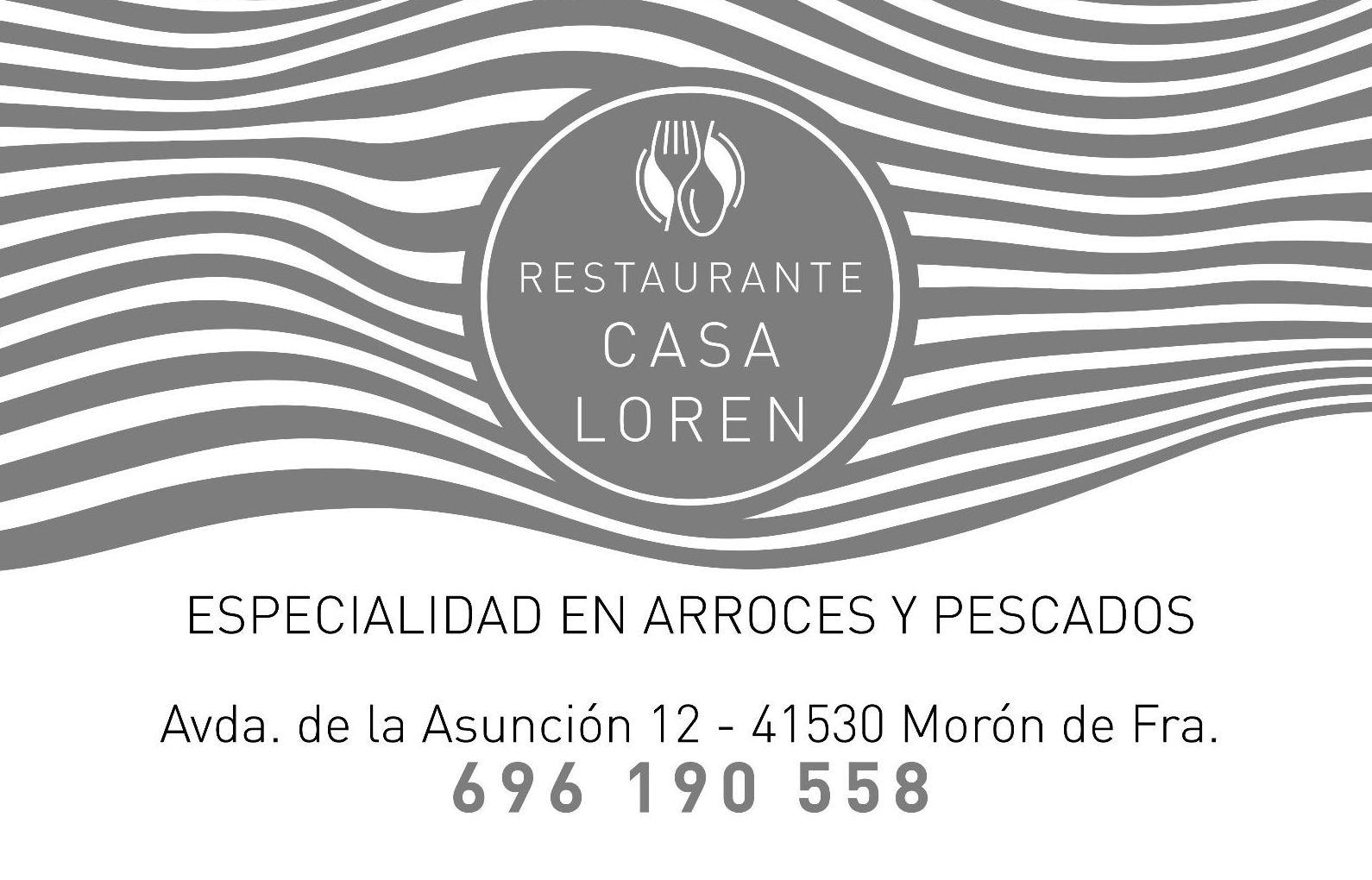 Restaurante especializado en arroces y pescados en Morón de la Frontera