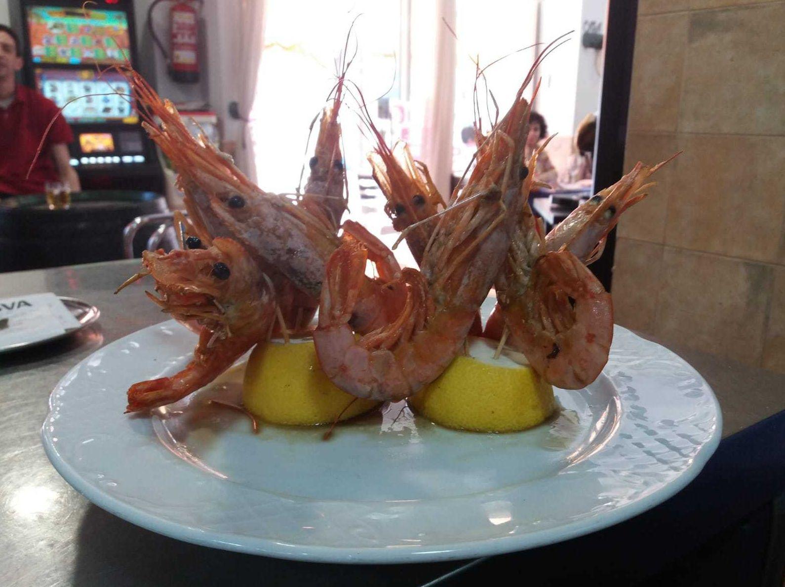 Restaurante especializado en pescados y mariscos en Morón de la Frontera