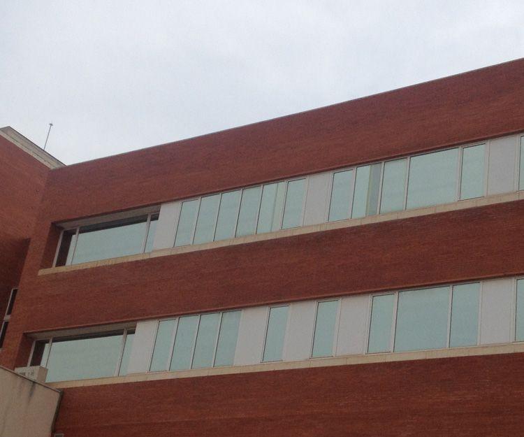 Láminas solares para hospitales