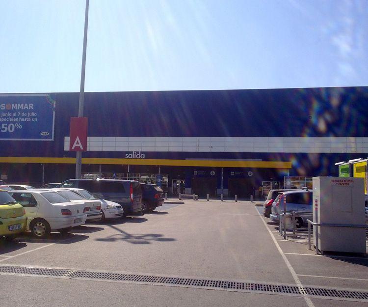 Láminas solares para centro comercial