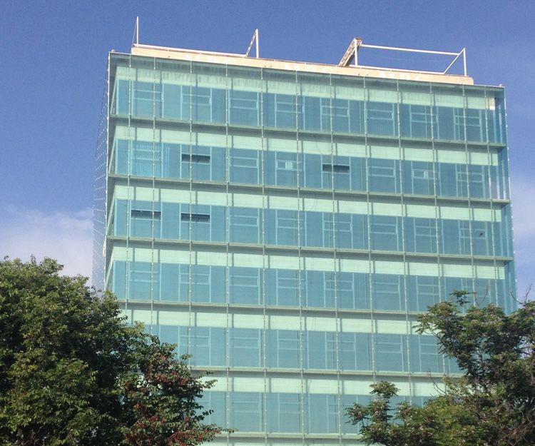 Láminas solares para edificio