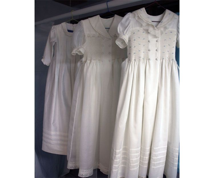 Limpieza de vestidos de comunión