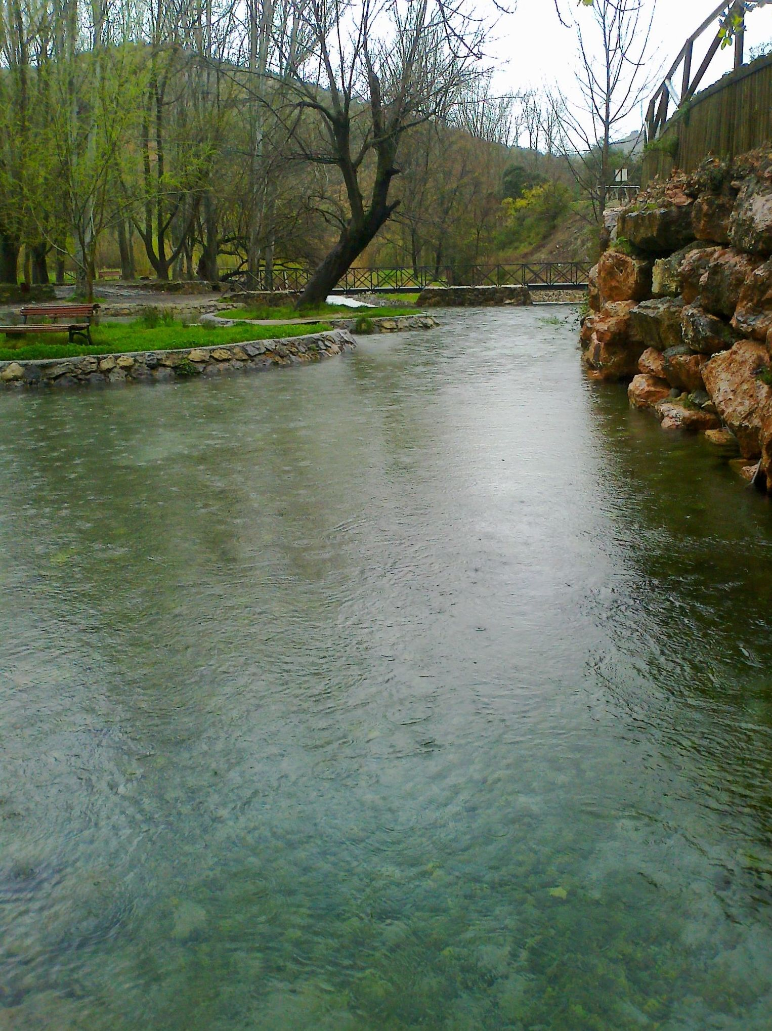 Paraje del nacimiento del río San Juan