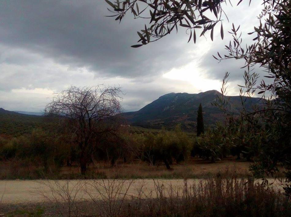 Vista de la Vía Verde-Sierra Sur de Jaén