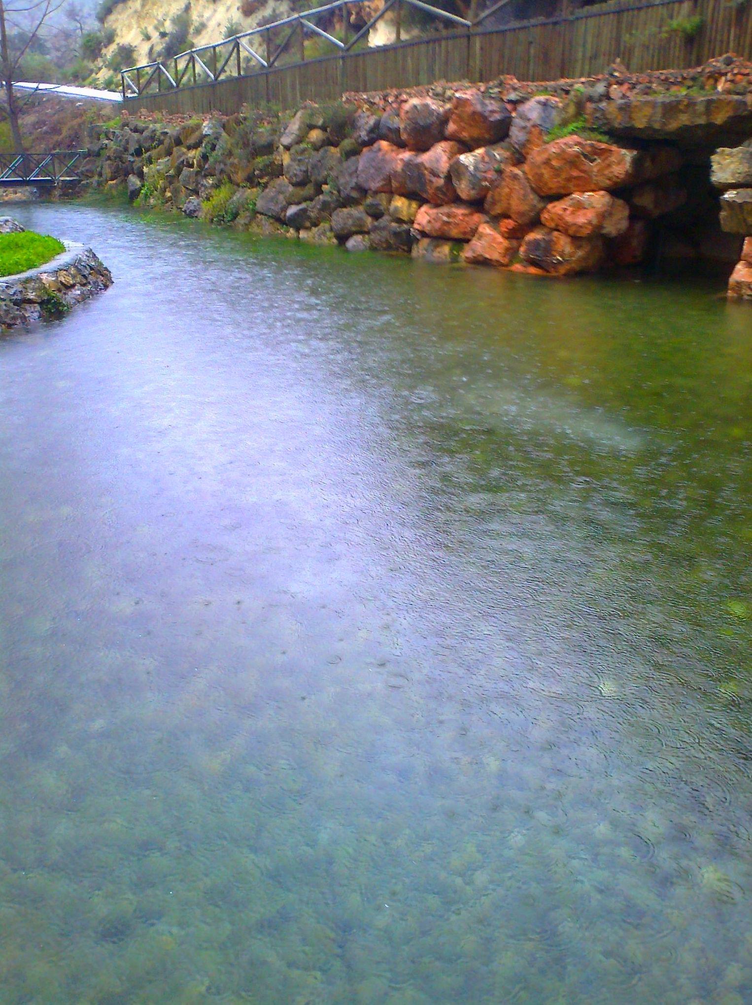 Nacimiento del rio San Juan-Castillo de Locubín-Sierra Sur de Jaén