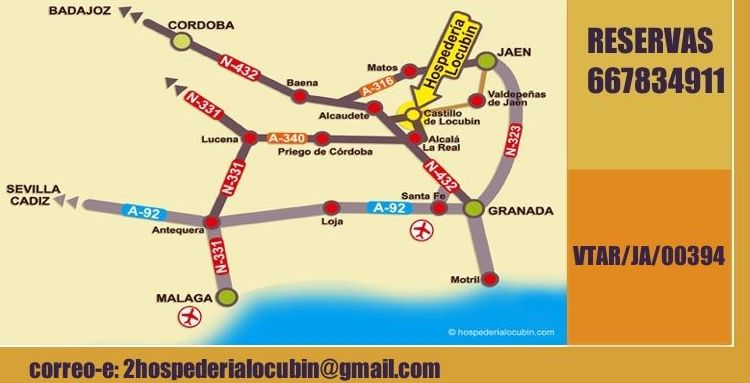Mapa de cómo llegar