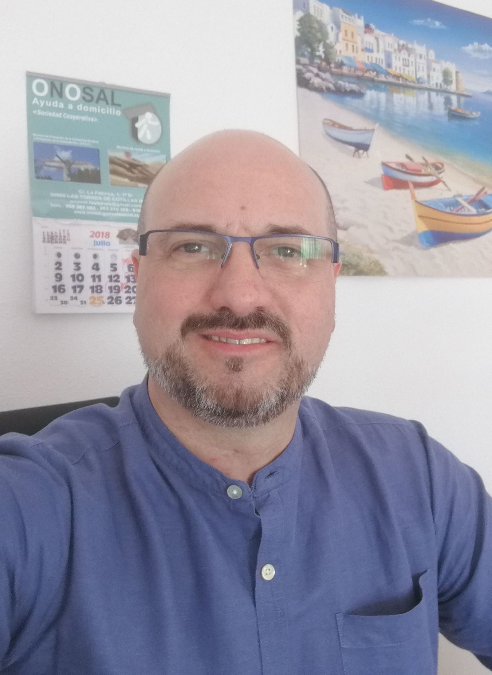Bernardo Manuel Fernández Sola. Gerente.