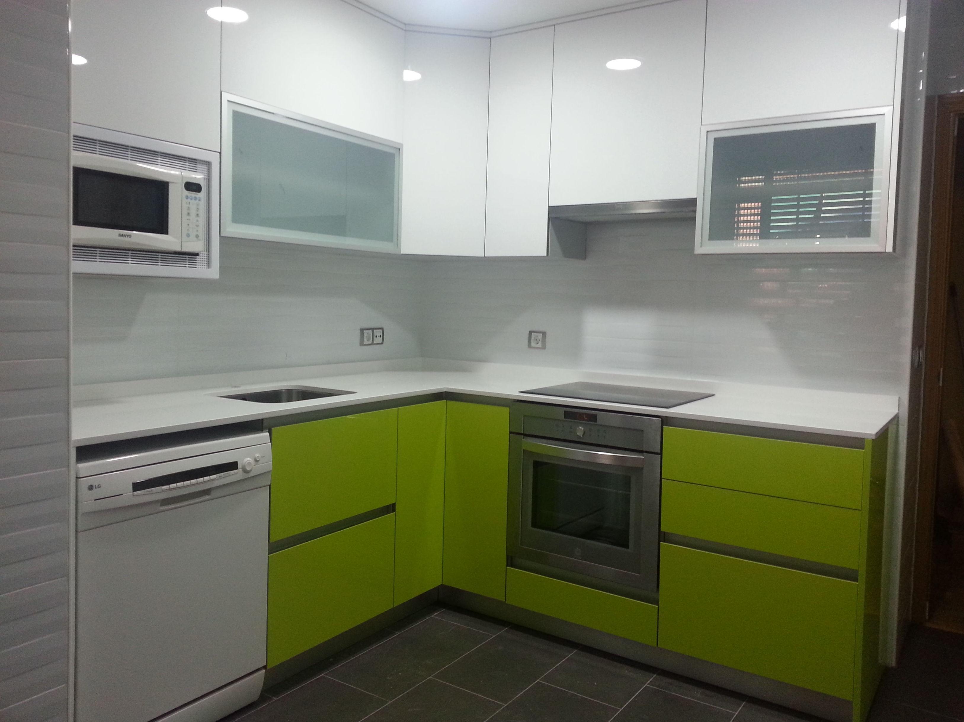 Proyectos de cocinas modernas en Madrid