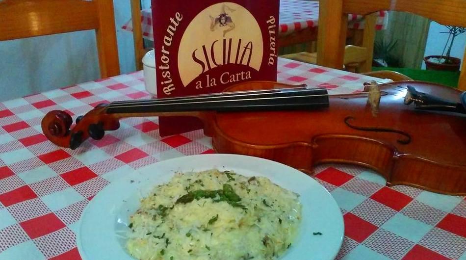 Sugerencias del Chef: Carta de Sicilia a la Carta