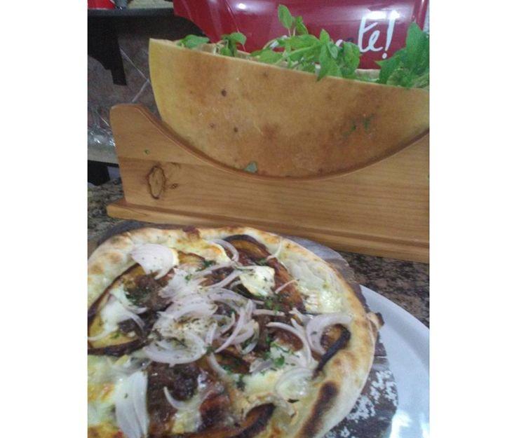 Pizzas variadas para llevar