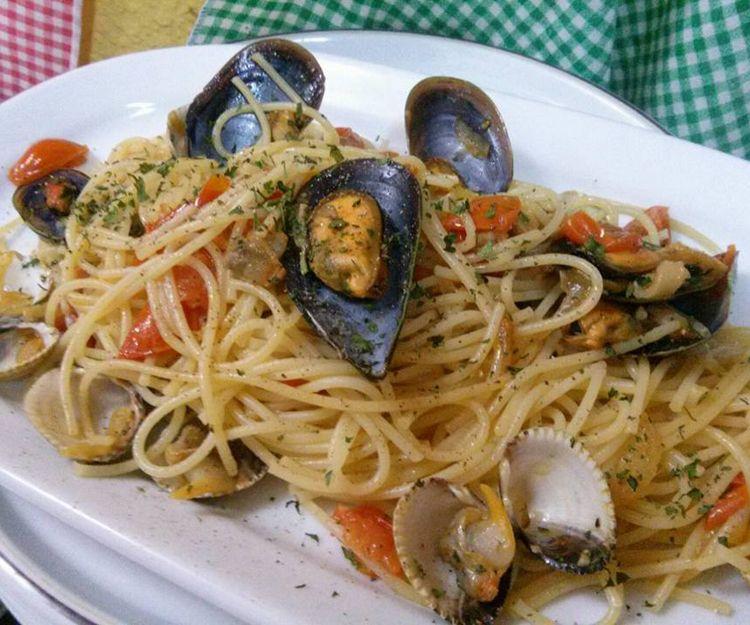 Espaguetis en nuestro menú