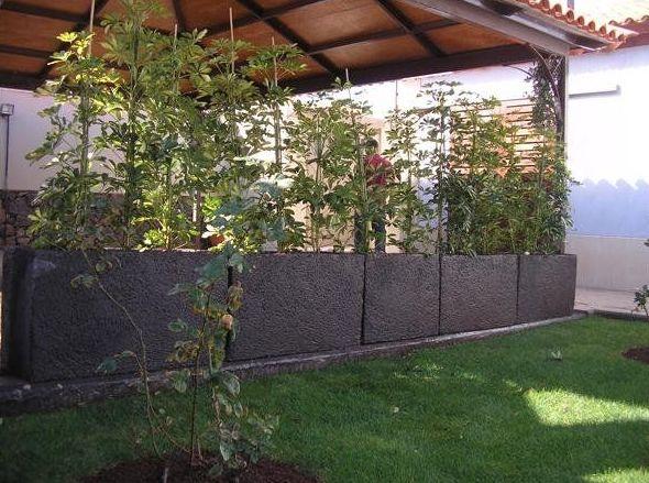 Complementos mobiliarios para jardines en Tenerife