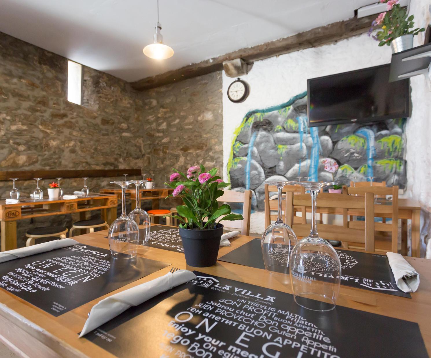 Restaurante para celebraciones en Navarra