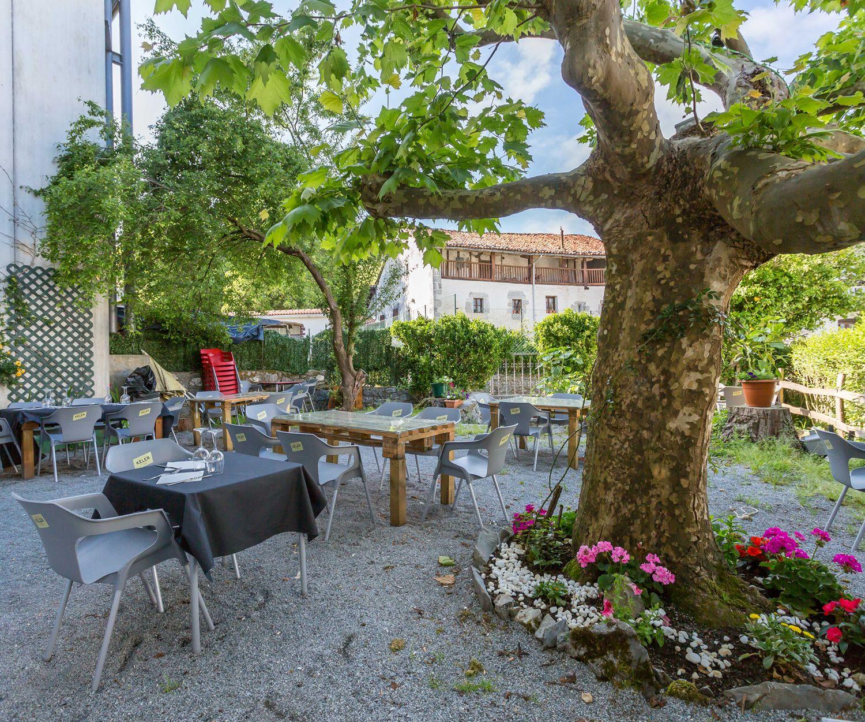 Restaurante con terraza en Navarra