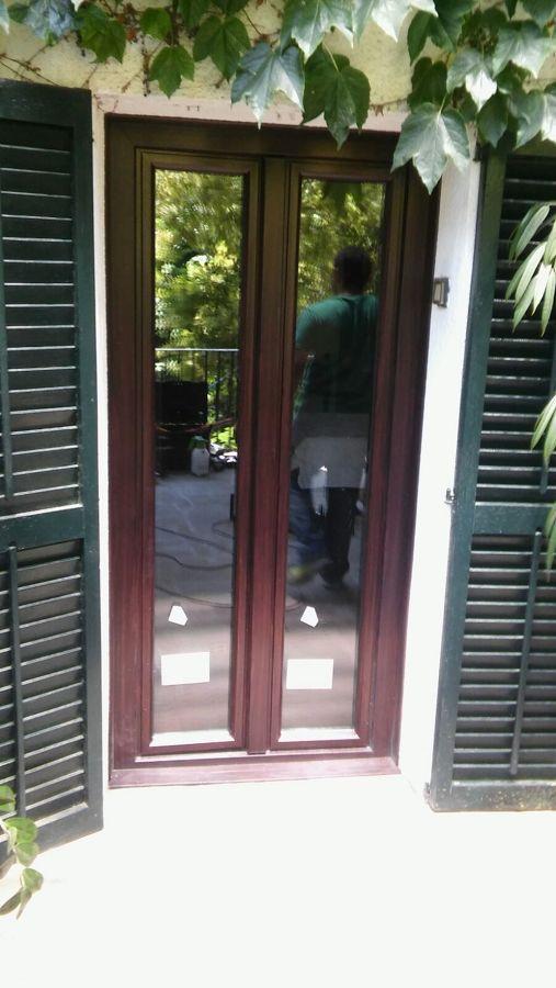 Instalación de puertas en vivienda