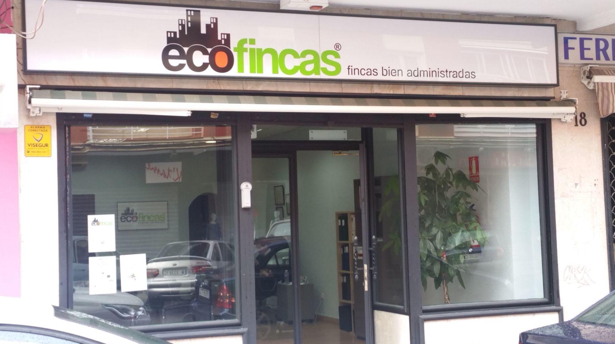 Fachada de Ecofincas en Parla